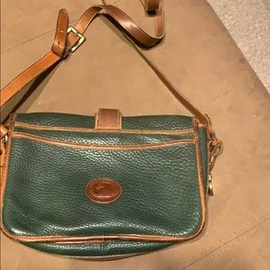 Dooney & Bourke hunter green purse